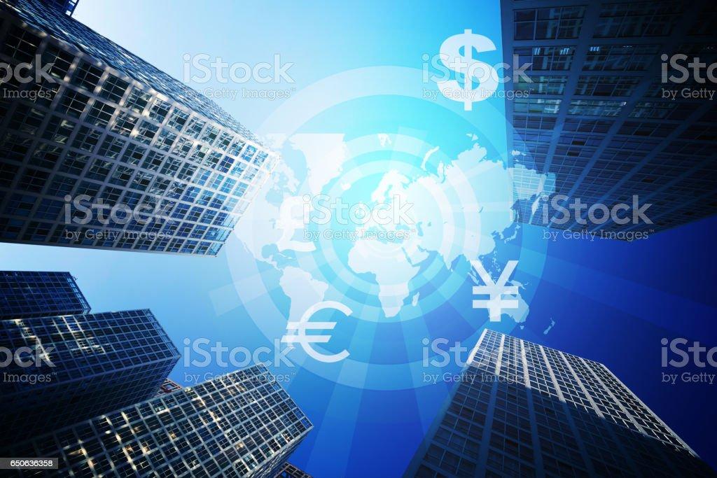 Global trade stock photo