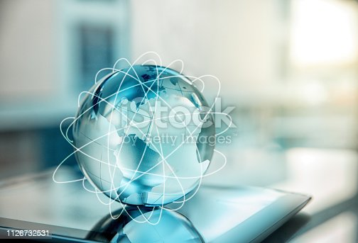 Technology, Internet, Globe, World Map, Data