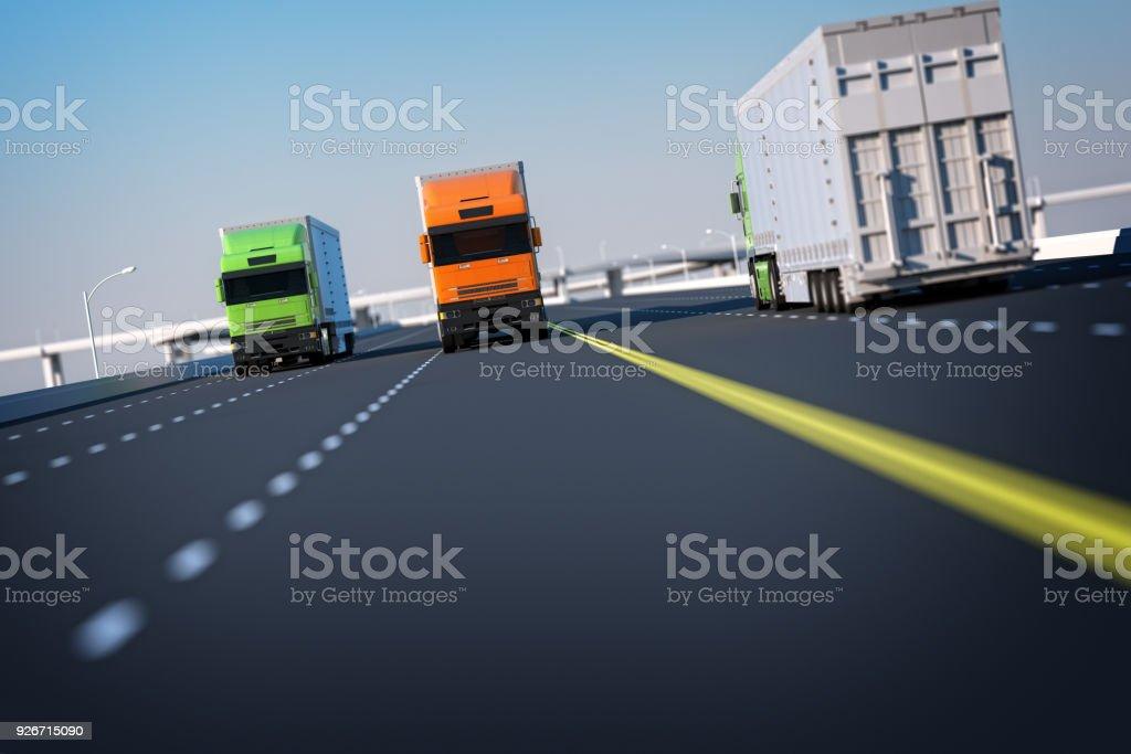 Global Transportation Concept stock photo