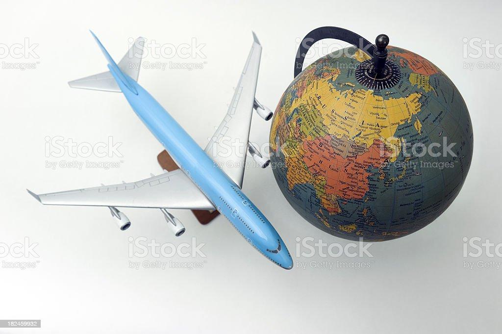 Global de viajes foto de stock libre de derechos