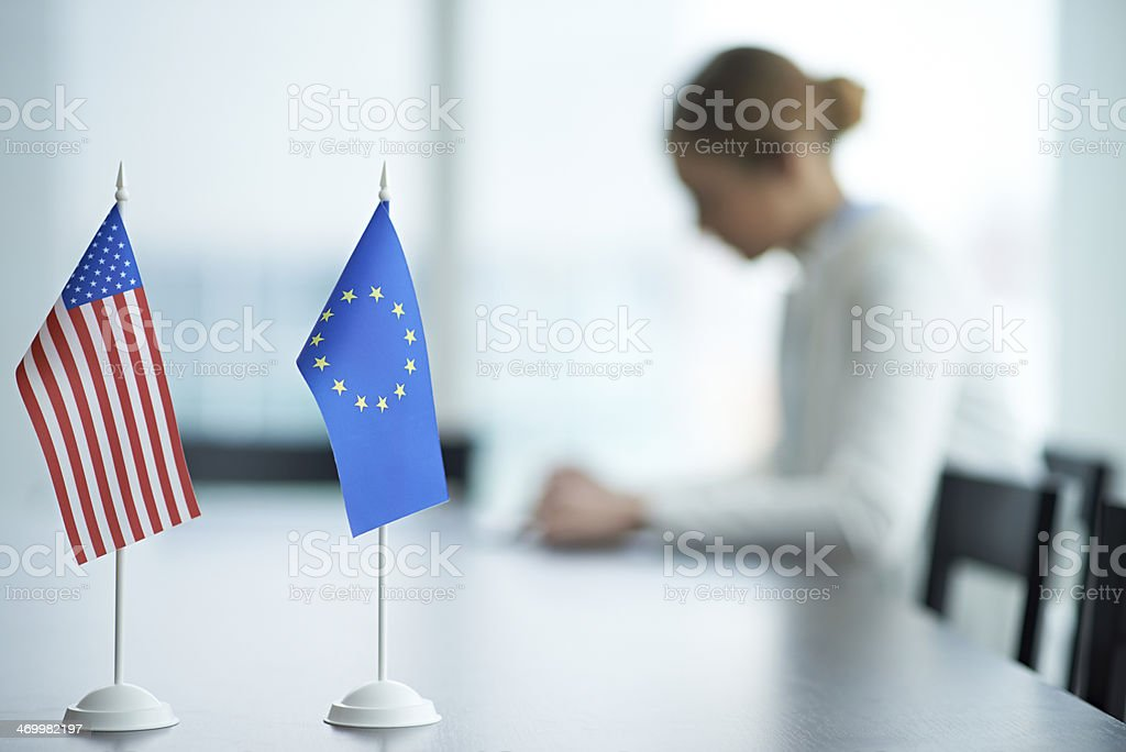 Global unity stock photo