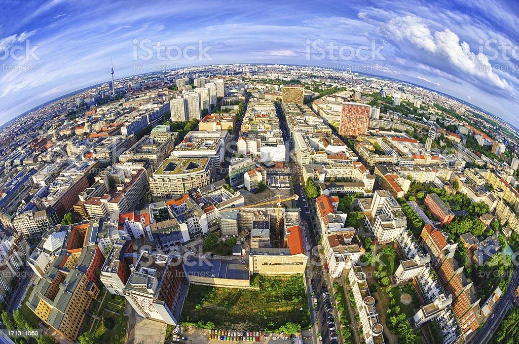 Global Blick auf Berlin – Foto