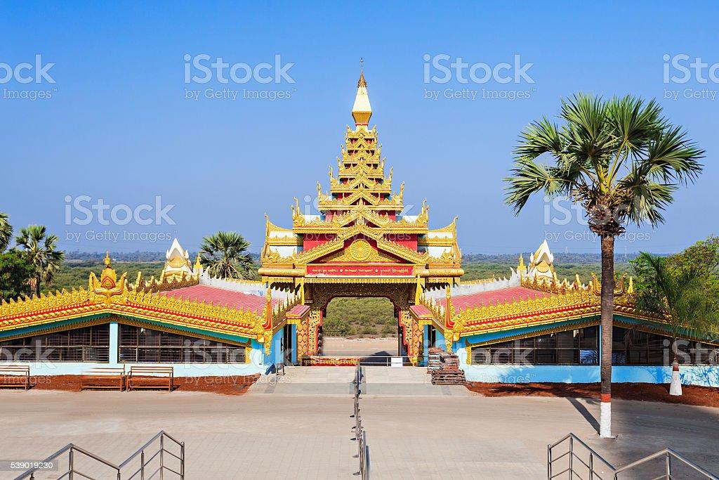 Global Vipassana Pagoda stock photo