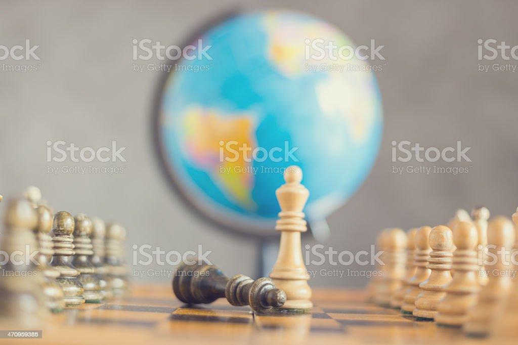 Global war stock photo