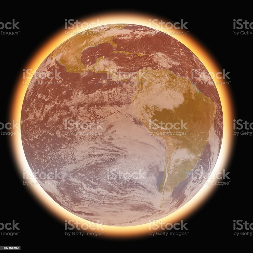Global Warming 1 stock photo