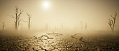 istock global warming and drought. thirst. post apocalyptic world. 1296973379