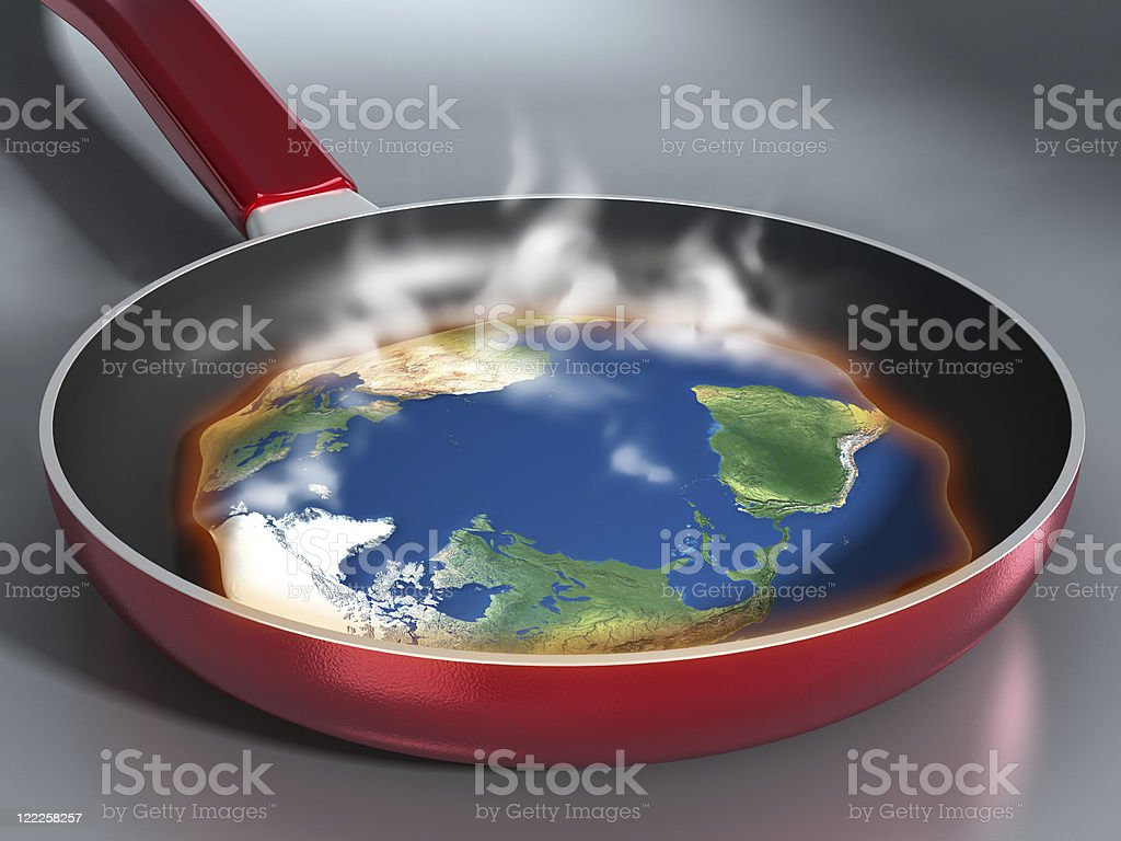 Global warming concept royalty-free stock photo