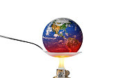 (original photo of Earth used from http://earthobservatory.nasa.gov).Find more in Zocha`s green