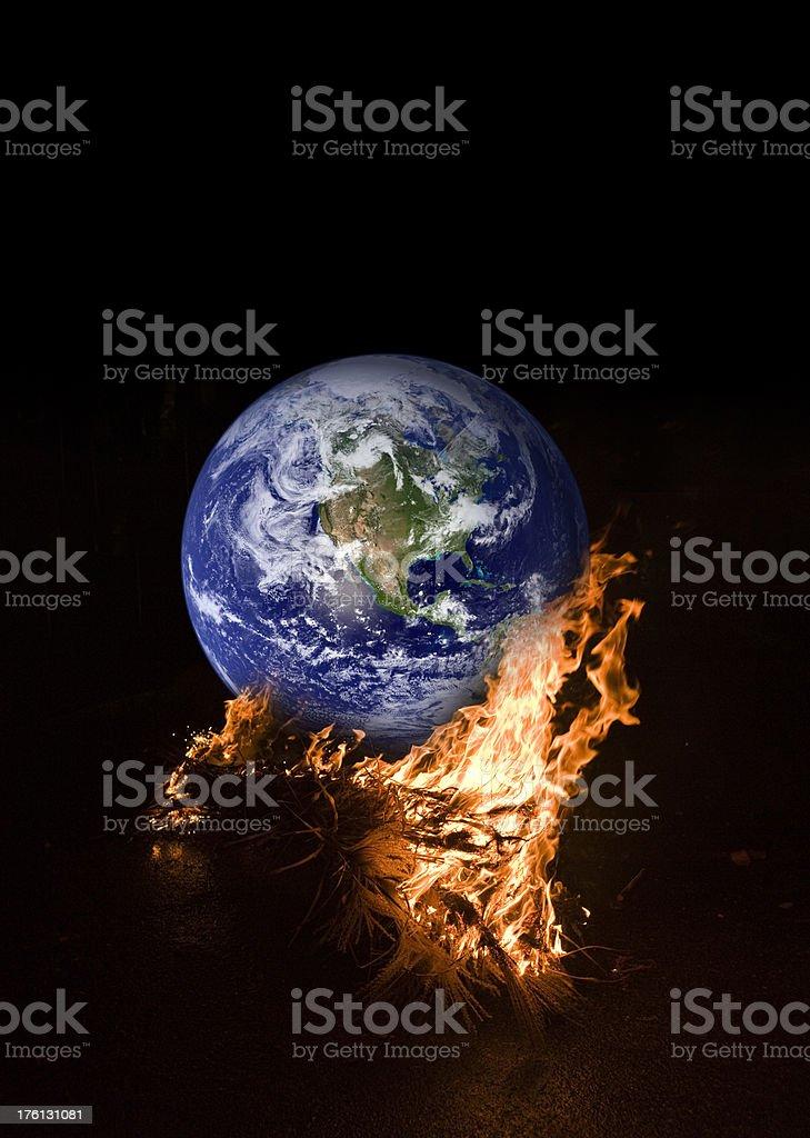 Global Warming (image size XXL) royalty-free stock photo