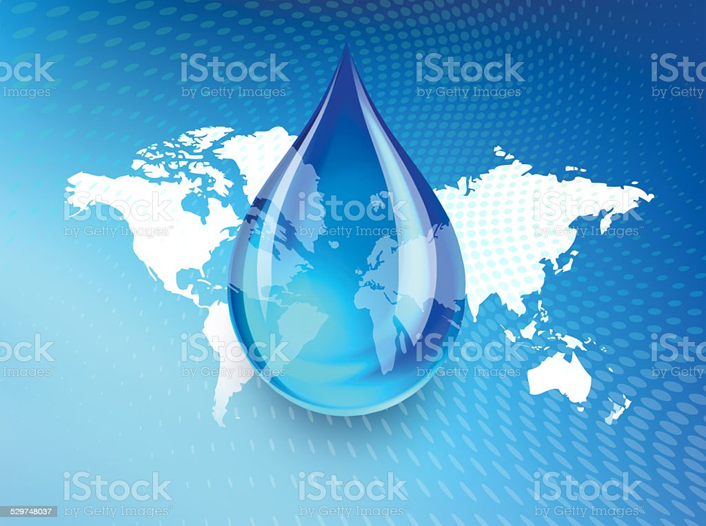 Global Water Shortage stock photo