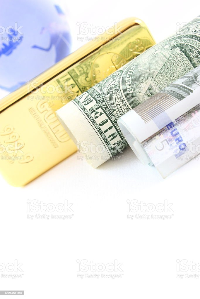 Global wealth royalty-free stock photo