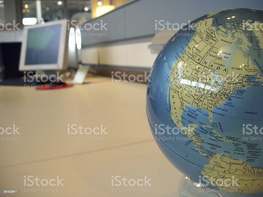 Global work issues stock photo