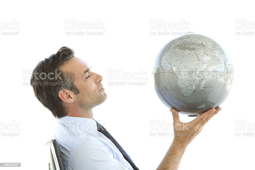 Globalization in mind royalty-free stock photo