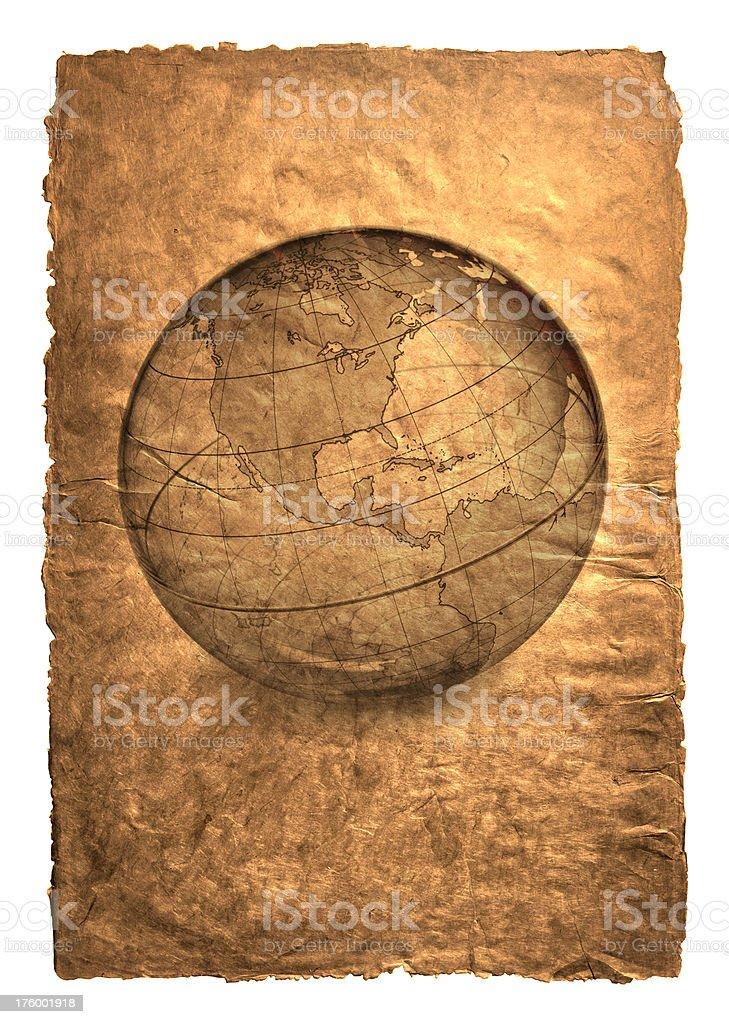 Globe 12 royalty-free stock photo