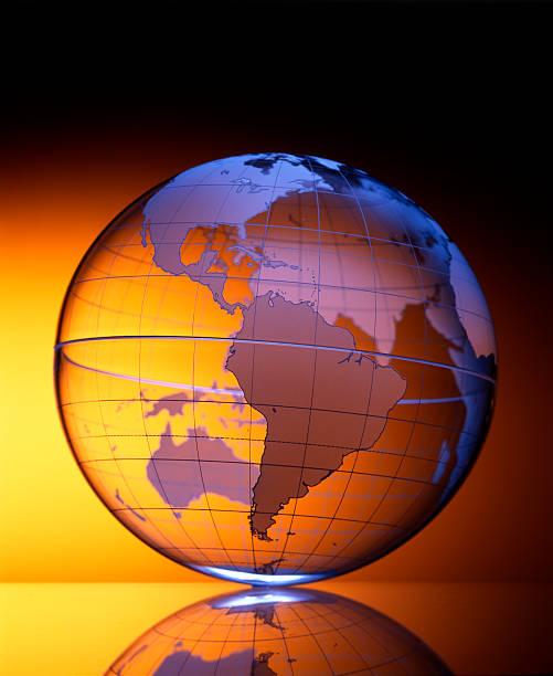 Globe 2 stock photo