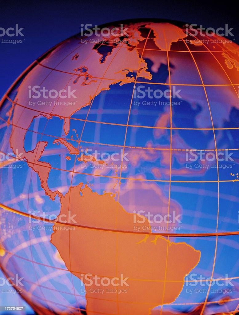 Globe 3 stock photo