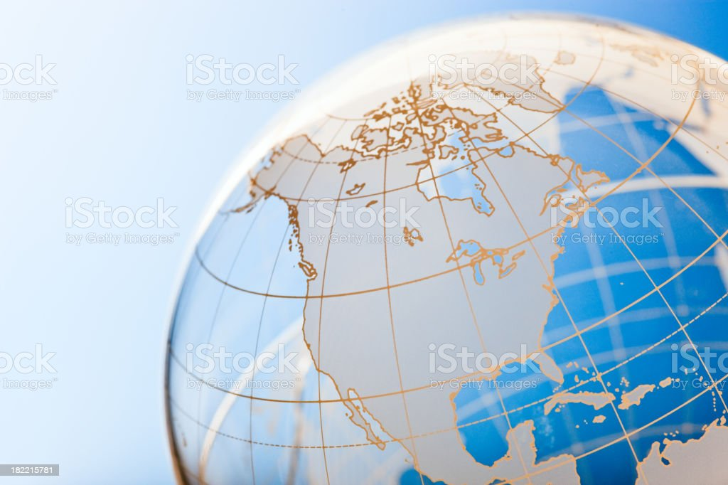 Globe background stock photo