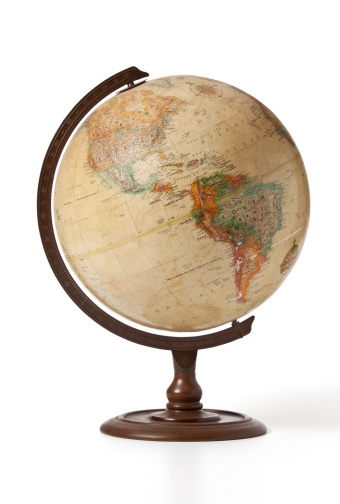 Globe Central America Stock Photo - Download Image Now