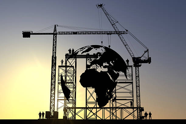 Globe construction site – Foto