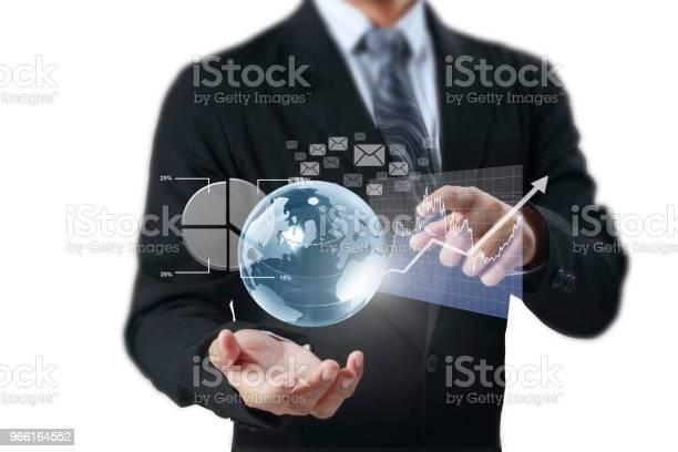 Globen Jorden I Mänsklig Hand Jorden Bilden Som Tillhandahålls Av Nasa-foton och fler bilder på Del av