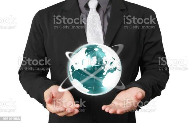 Globus Erde In Menschenhand Earthbild Von Der Nasa Zur Verfügung Gestellt Stockfoto und mehr Bilder von Erwachsene Person