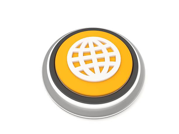Globe Icon stock photo