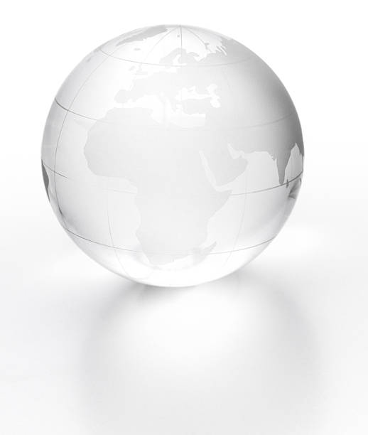 Globe isolated  estudio stock pictures, royalty-free photos & images