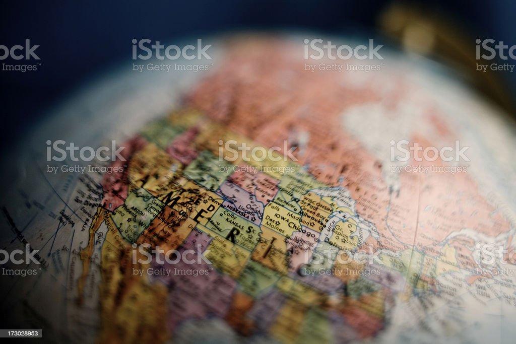 Globus von North America – Foto