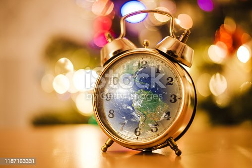 Globe of the earth in christmas alarm clock  https://upload.wikimedia.org/wikipedia/commons/d/db/Nasa_blue_marble.jpg