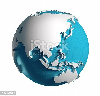 istock Globe of the World. 492105584