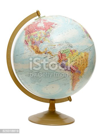 171057063istockphoto Globe on the Americas 525318819