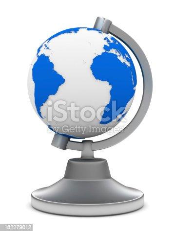 186020817istockphoto globe on white background. Isolated 3D image 182279012