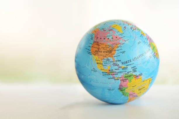 globe - mapa mundi imagens e fotografias de stock