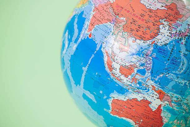 globe - 亞太地區 個照片及圖片檔