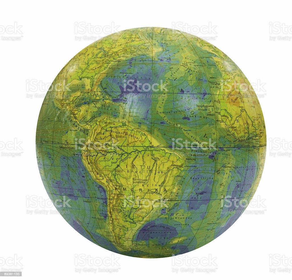 Globe royalty free stockfoto