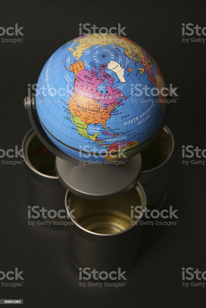 Globe royalty free stockfoto