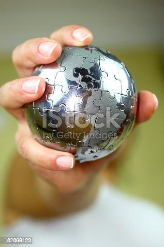 638813890istockphoto Globe puzzle 182869123