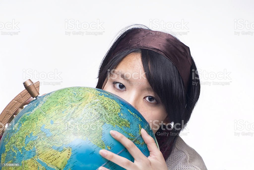 Globe Series royalty-free stock photo