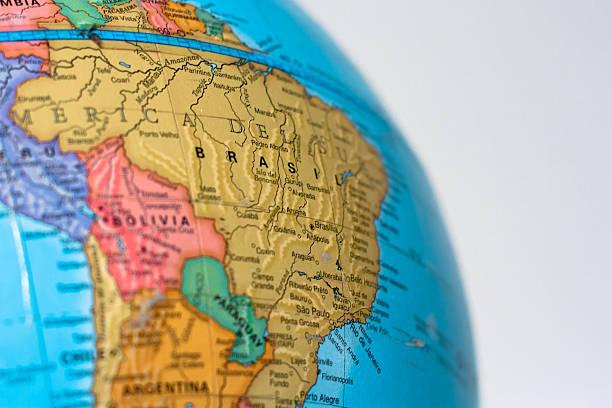 Mostrando Southamerica mundo - foto de acervo
