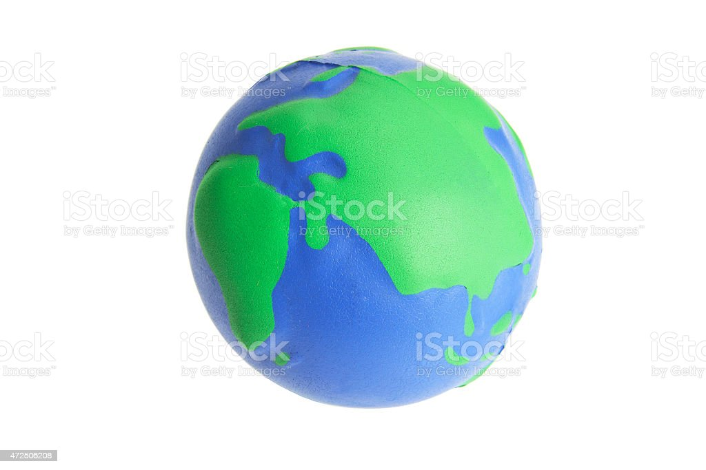 Globe pelota antiestrés - foto de stock