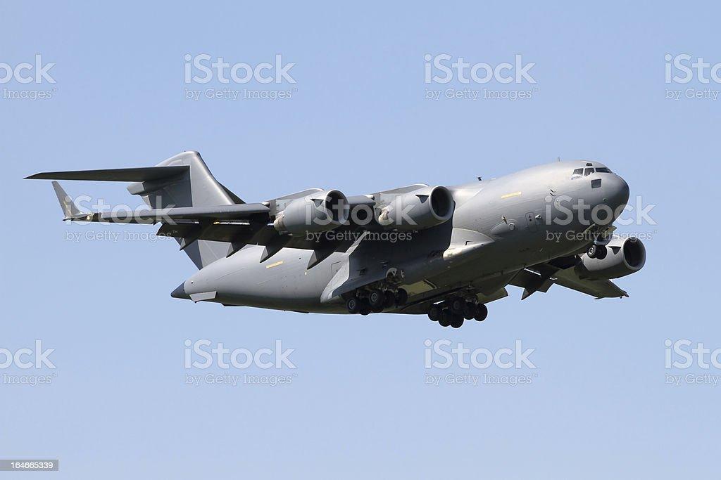 C-17 Globemaster Transporter Aircraft stock photo