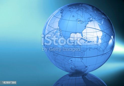 Globe showing North AmericaTo see more of my globe images click the link below: