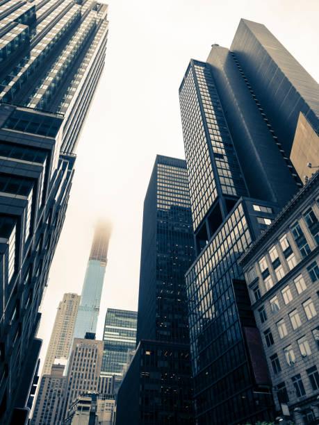 Gloomy Day In Manhattan – Foto