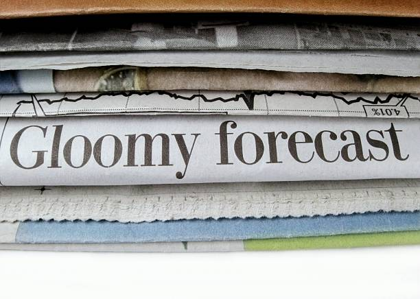 Gloomy Forecast stock photo