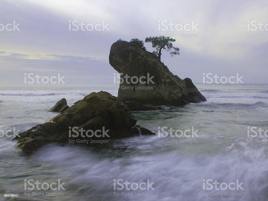 gloomy island royalty-free stock photo