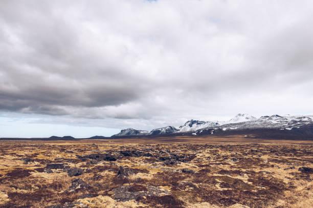 Düstere Landschaft, Snaefellsnes Halbinsel, Island – Foto