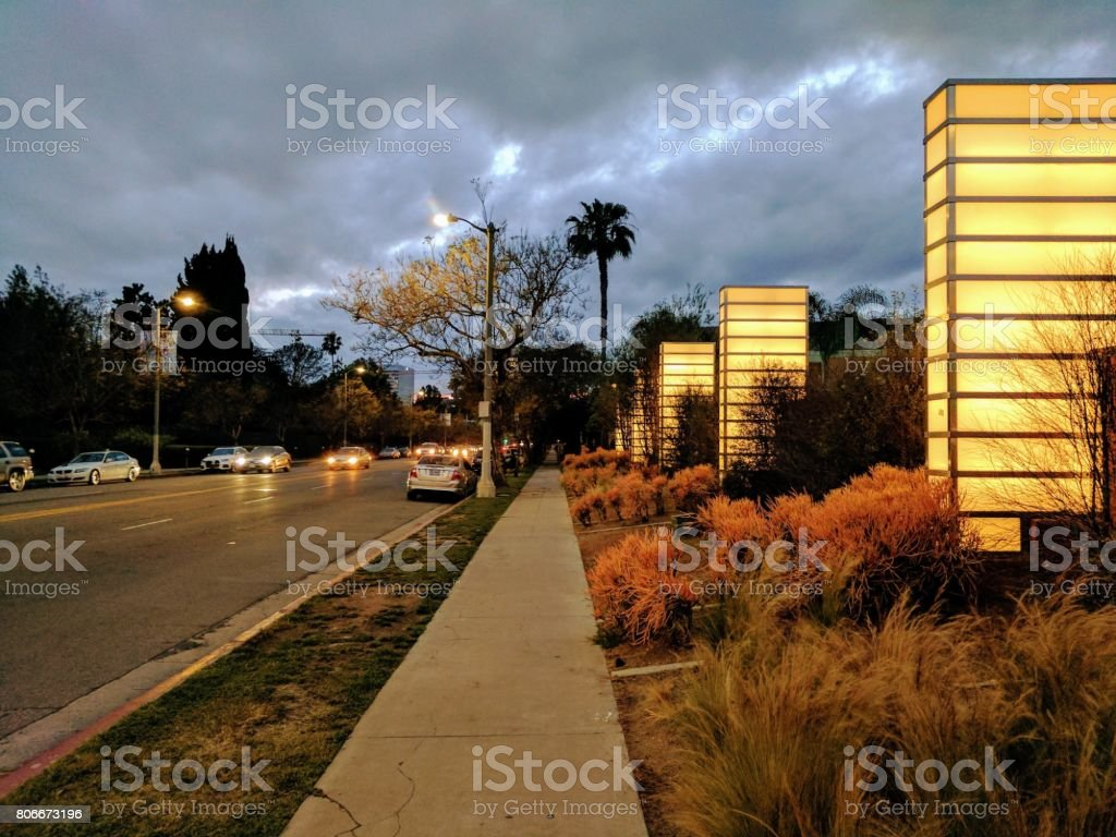 Gloomy Los Angeles Street Stock Photo Download Image Now