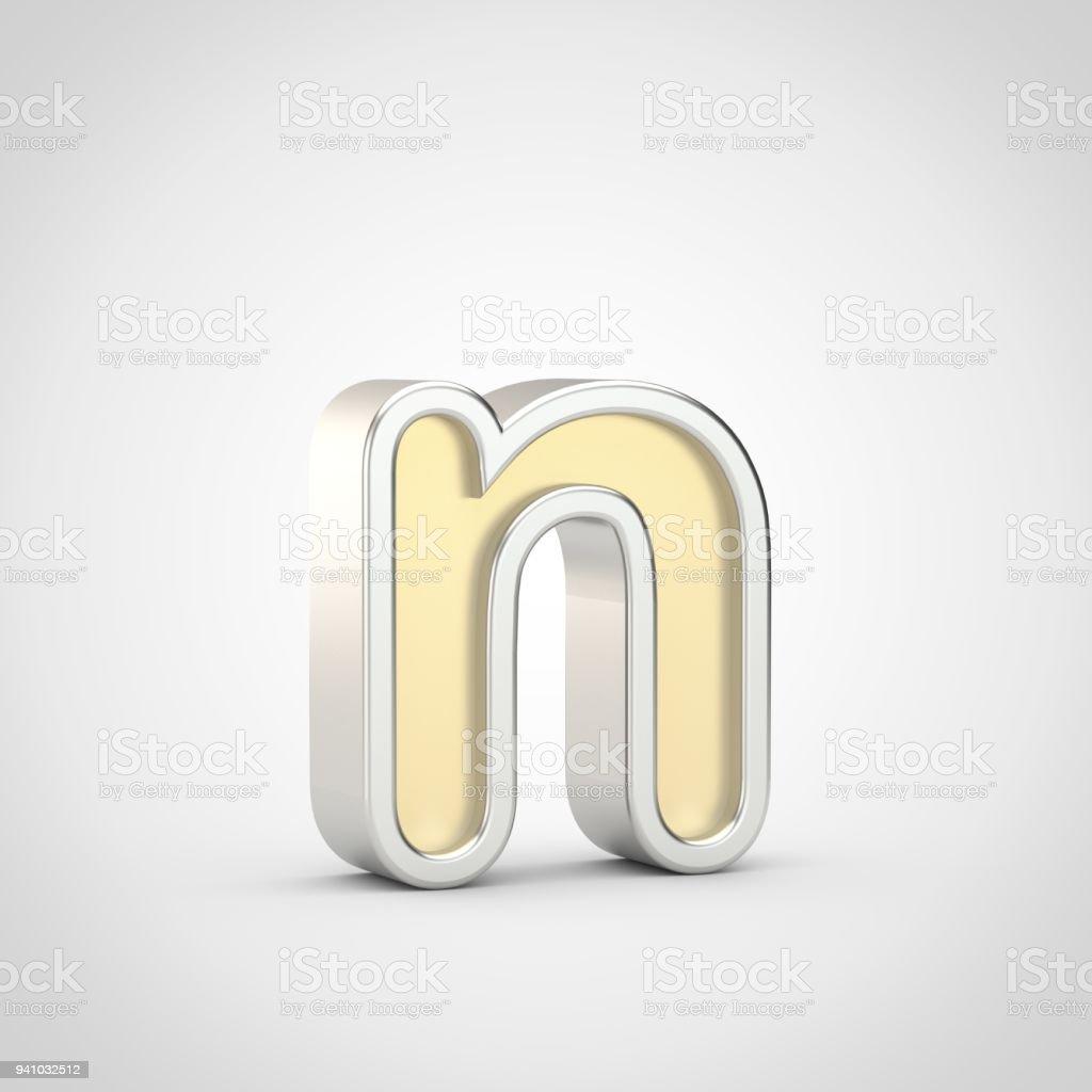 letter n outline