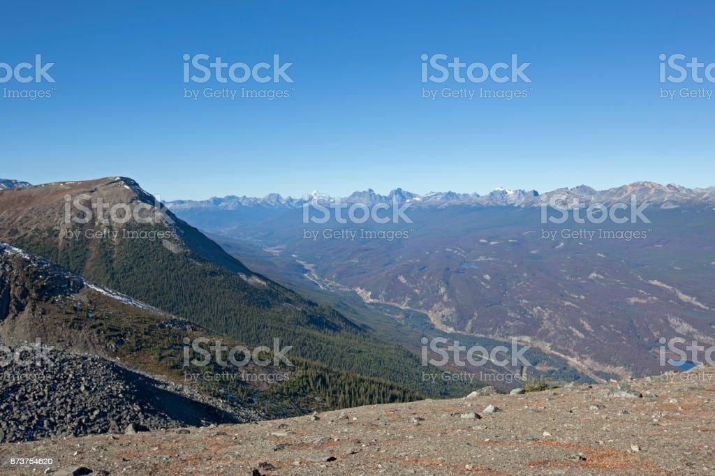 glorious canadian rockies stock photo