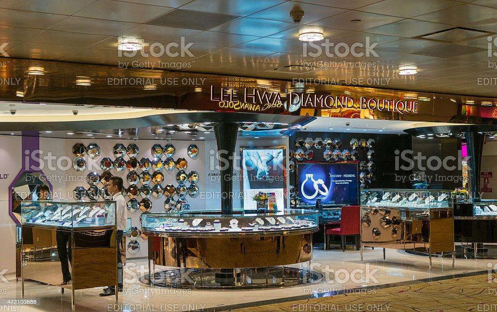 Superbe centre commercial de l'aéroport International de Changi - Photo